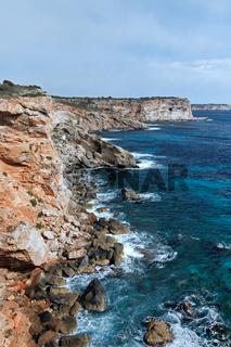 Felsküste auf Mallorca
