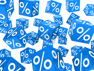 blue sale percent cubes