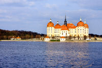 Moritzburg Castle in Saxony Germany
