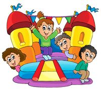 Kids play theme image 9 - picture illustration.