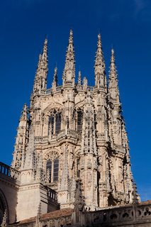 Tower of the Cathedral of Burgos