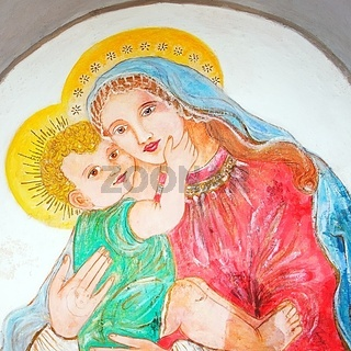 Maria mit Kind