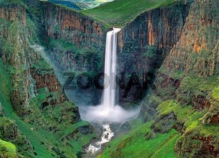 Maletsunyane Falls,Lesotho