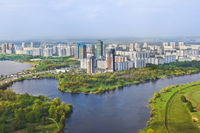 Moscow, Russia - aerial view