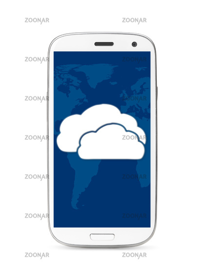 cloud touch screen phone