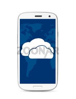 cloud touch screen phone