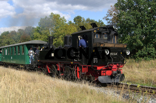 Dampflokzug bei Berbisdorf