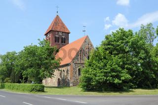 Dorfkirche in Wensickendorf im Land Brandenburg