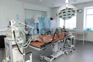 empty operating room