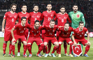 Hungary vs. Turkey football game