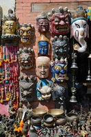 Wooden masks from Nepal