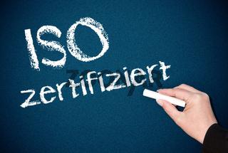 ISO zertifiziert - geprüfte Qualität