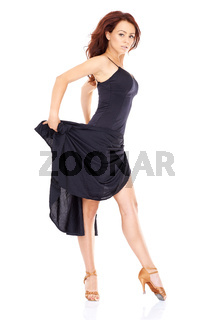 Beautiful modern dancer