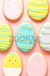 Easter homemade gingerbread cookie