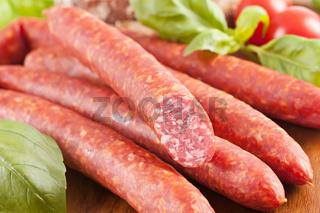 Farmer sausages