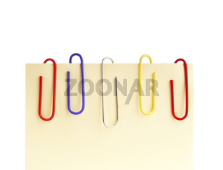 Paperclips and Notepaper