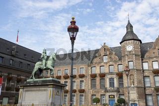 Das alte Rathaus der Stadt Düsseldorf, Deutschland