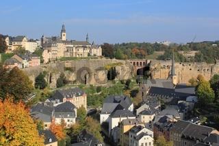 Festungsanlage und Stadt Luxemburg