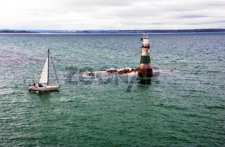 Segelboot Sinkan, Bretagne, France