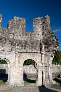 Mellifont Abbey Ruine mit Rundbögen