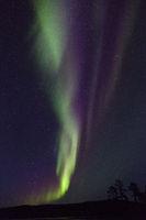 Nordlicht in Finnland