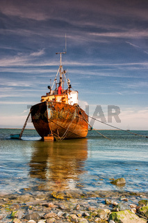 Trawler In Rumpside