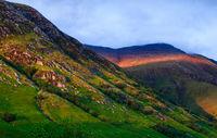 highlands schottland abend Licht
