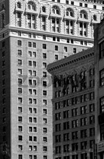 Hausfassaden in Manhattan