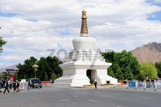 Stupa Lhasa Tibet