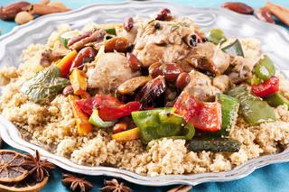 couscous marocain wih chicken