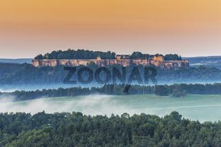 Festung Königstein Sachsen | Koenigstein Fortress, Saxony