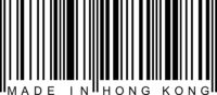Barcode - Made in Hong Kong
