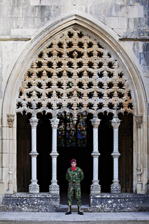 Wächter des Klosters Batalha, Beira Litoral, Portugal