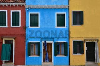 bunte Fassaden - Burano - Italien