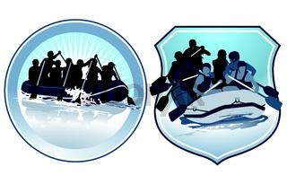 Rafting Zeichen.eps