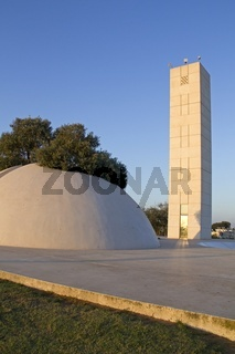 Dani Karavan memorial in Tel-Aviv