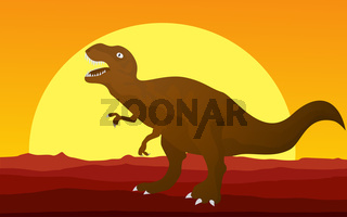 Dinosaur background 1