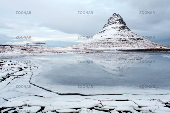 Grundarfjorour famous mountain iceland