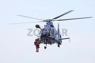 Helikopter im Rettungseinsatz