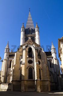 A Church In Dijon City
