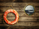 lifebuoy and porthole