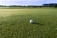 Golfball mit Panorama