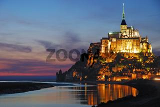 Mont Saint Michel in der Normandie