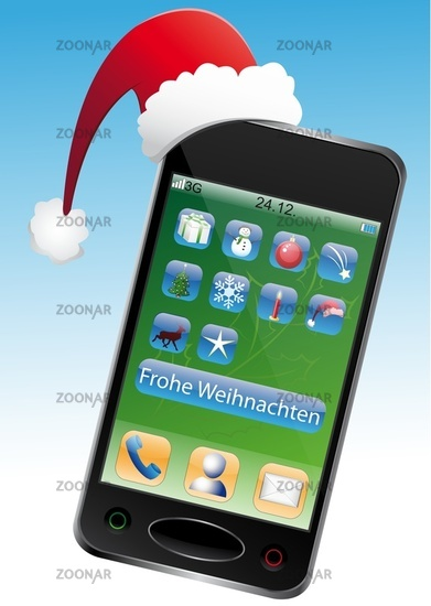 Christmas Cell Phone
