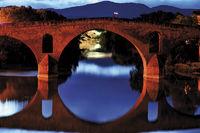 Spanien: Pilgerbrücke in Puente la Reina