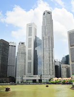 Singapore  riverbank
