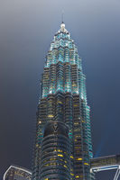 Twin towers at Kuala Lumpur (Malaysia)