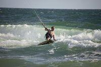 Kitesurfer in Fort Lauderdale