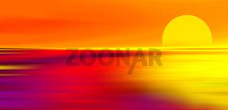 Sonnenuntergang illustration