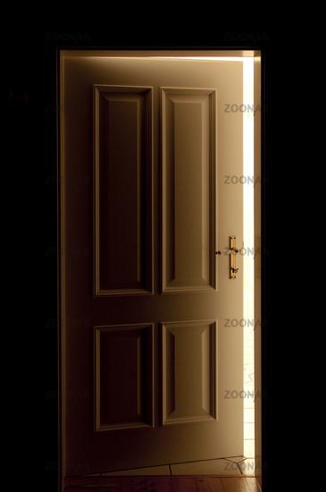 Geöffnete tür  Foto Geöffnete Tür Bild #3164484